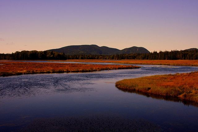 Mount Desert Island, Maine; photo © Dana Moos