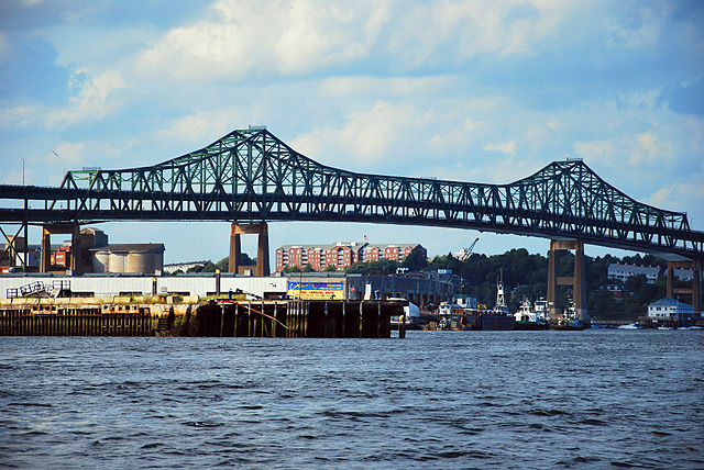 Tobin Bridge, Route 1, Boston, MA; photo © Chen Siyuan