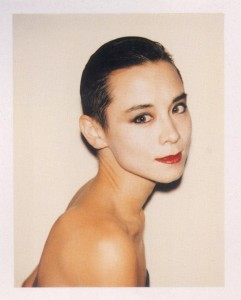 Andy Warhol's portrait of Tina Chow